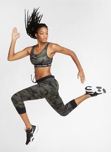 Nike Nike CU7353-010 Siyah Kadın Sporcu Sütyeni Siyah